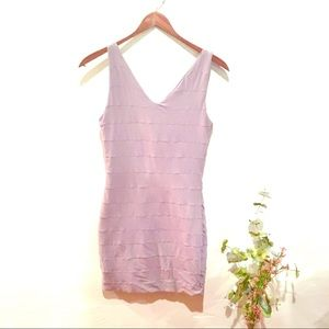 Kookai Lavender Bodycon Tank Dress